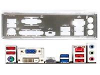 I//O Shield For backplate GIGABYTE GA-Z77X-UP5 TH Motherboard Backplate IO