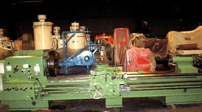 1991 Ryazan 1m63n 20 Hp 24 Chuck 27.56 Swing Engine Lathe