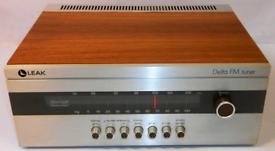 LEAK Audio Leak Delta FM Tuner vgc nice vintage tuner