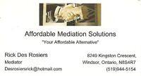 Mediation Services & Interest Based Training and Program Design