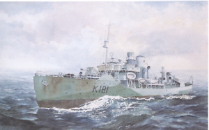 HMCS SACKVILLE PRINT SOLD IN TUBE