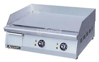 Adcraft Griddle, Electric, 15.5 x 24, Countertop - Grid-24