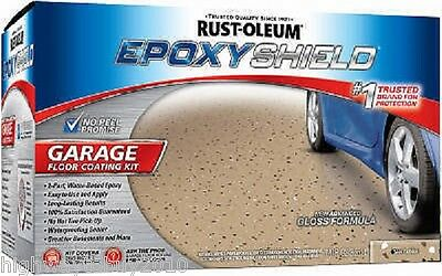 Rustoleum 251966 Epoxy Shield Tan Garage Floor Paint