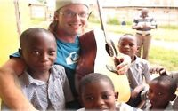 Teaching in poor communities in Uganda