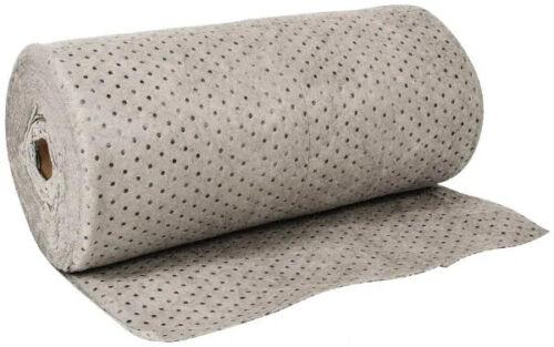 """Pro-Safe Polypropylene Sorbent Roll Gray 150 Ft Long x 30"""" Wide UQER150 58617093"""
