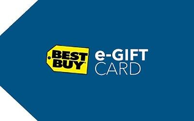 Best Buy Gift Card  25  50  100 Or  150   Fast Email Delivery