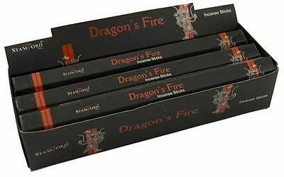 Stamford 'Dragon's Fire' Incense Sticks (pk 20) (T45)