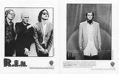 R.E.M. - Man On The Moon PRESS KIT + 2 PHOTOS