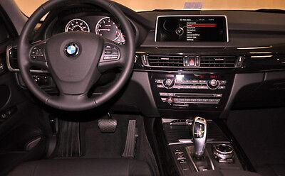 BMW Marca OEM F15 X5 2014+ Americano Roble Madera Interior Recortar Kit...