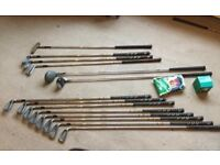 Full set of golf clubs some new