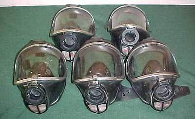 5 Draeger Drager Panorama Nova Scba Gas Air Full Face Mask Respirator