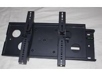 Tv wall bracket cantilever type for flat screen TV will support up to 70 kgs