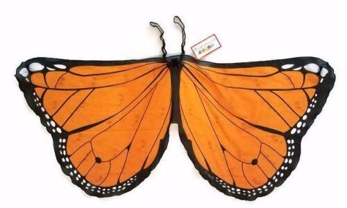 Monarch Butterfly Wings for Halloween Costume Girls Children
