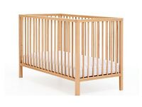 Lovely cot from mothercare