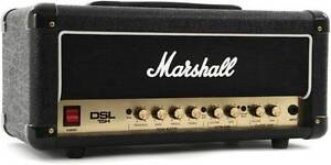 Marshall DSL15H Electric Guitar Amp Head 15W 2 Channel Tube Valve Georges Hall Bankstown Area Preview
