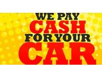 Wanted any cars we pay cash for your cars
