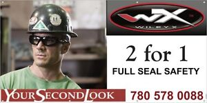 2 for 1 WILEY X SAFETY ON SITE Fittings Strathcona County Edmonton Area image 1