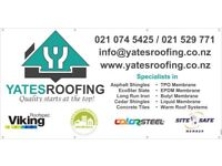 Roofers and TPO membrane Installers wanted in New Zealand!
