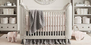 Restoration Hardware Belle Crib/Toddler Bed and Dresser set