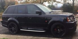 "4 x 22"" Wheels & Low Profile Tyres for Range Rover Sport"