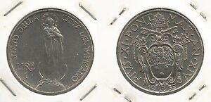 VATICANO - Papa Pio XI - 1 Lira 1935 (2) - Italia - Si accetta la restituzione solo se l'oggetto non corrisponde alla descrizione. - Italia