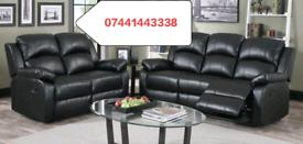 Recliner Corner Or 3 + 2 Seater Sofa Sale