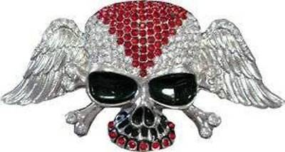Crystal Pirate Belt Buckle (