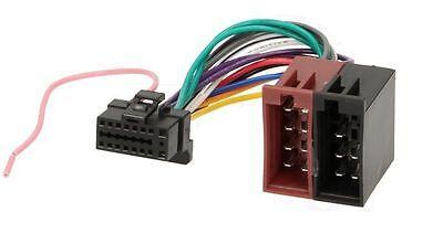 ISO Adapter Kabel für ALPINE CDE-180R CDE-180RM CDE-180RR CDE-182R CDE-173BT