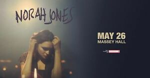 Norah Jones Massey Hall May 26 @ 8pm