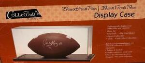 New Collectors Museum Display Case - Football, Die Cast Model Car, Collectibles Condition: New