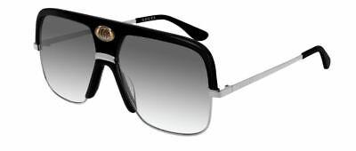 Gucci Gg0478s 0478s 59 001 Black Sunglasses Grey Lenses Sole