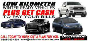 Winter Ready Vehicles Plus Get Cash to Pay Your Bills