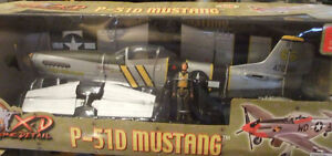 "WWII Fighter Aircraft P-51D MUSTANG ""The Flying Undertaker"" MIB"