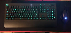 Logitech Gaming Mouse & Keyboard