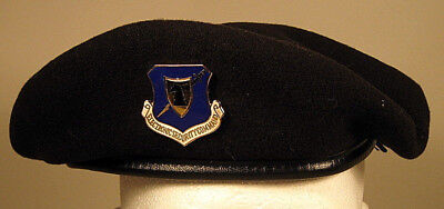 USAF Security Police Electronic Security Command Crest Badge Insignia Beret  for sale  Irving