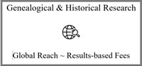 Genealogical & Historical Research Service ~ Expert & Affordable