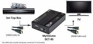 New/SRS LABS DCT-8S ADVANCED HDMI TV VOLUME LEVELING ADAPTER