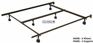 METAL BED FRAMES! Canadian Made & BUILT TO LAST! TAX Included London Ontario image 1