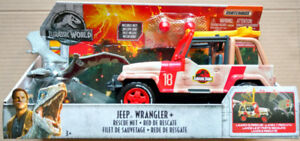 Matchbox Jurassic World Jeep Wrangler With Rescue Net
