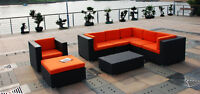 Popular Resin Wicker Patio Sectionals selling out fast $1849+GST