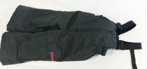 X.Trem by Gusti Girls Size 18M Dark Gray and Pink Snow Pants