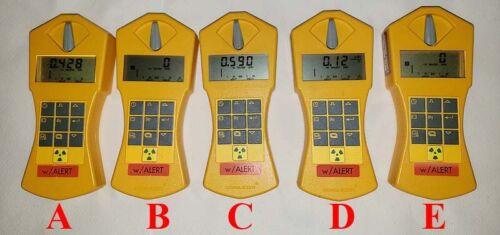Gamma Scout Radiation Detector Geiger Counter with Alert