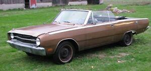1969 Dodge Dart GT convertible MoPar 225