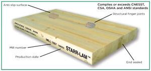 STARR-LAM Scaffold Plank (Glulam/laminated)