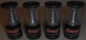 ( 4 ) Budweiser NHL Mini Stanley Cup Trophies , Year 2010