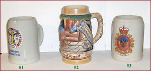 Lot of 3 Collectable Beer Steins Belleville Belleville Area image 4