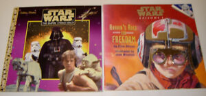 Two Vintage Star Wars Mini Storybooks- Late 1990's