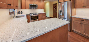 QUARTZ AND GRANITE COUNTER TOPS AT ITS LOWEST PRICE!