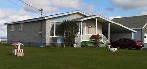 Maison au bord de la mer à Grande-Anse, NB