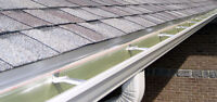 Eaves troughs and gutters  repair and installation